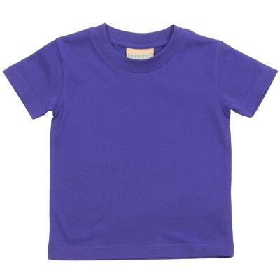 Larkwood Baby/børnetøj Crew Neck T-Shirt / Schoolwear - Børnetøj - Larkwood