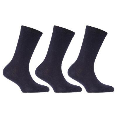 Universal Textiles Børnetøj/Kids almindeligt bomuld rige skole sokker (pakke med 3) - Børnetøj - Universal Textiles