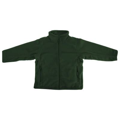 Jerzees Schoolgear børnetøj Full Zip udendørs Fleece jakke Bourgogn... - Børnetøj - Jerzees