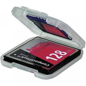 Hama 00049921 Memory card pose CFast® card, CompactFlash card, MMCmobile card, SD kort Transparent