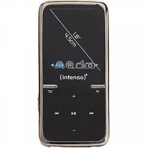Intenso Video Scooter MP3-afspiller, MP4 afspiller 8 GB-sort