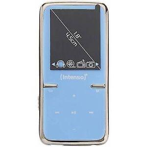 Intenso Video Scooter MP3-afspiller, MP4 afspiller 8 GB-blå