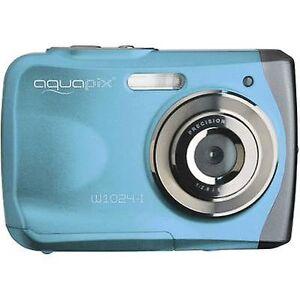 Easypix W1024-I splash digital kamera 16 MP blå undervandskamera