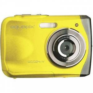 Easypix W1024-I splash digital kamera 16 MP gult undervandskamera