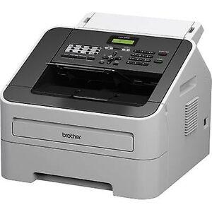 Brother FAX-2940, laser fax maskine (500 sider side hukommelse, 30 ark side/dokument feed, modemhastighed)