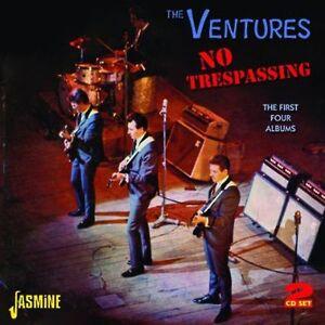 PID Ventures - ingen Trespassing: Første fire Albums [CD] USA import