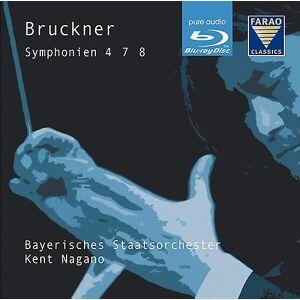 FARAO CLASSICS Bruckner - Syms 4 7 & 8 [BLU-RAY] USA importerer