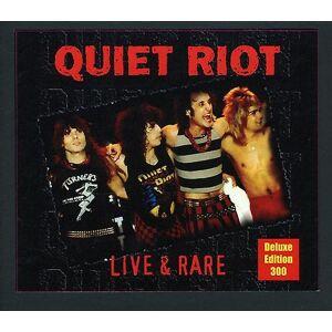 CLEOPATRA Quiet Riot - Live & sjældne-Deluxe Edition [CD] USA importerer