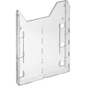 Durable Holdbar COMBIBOXX A4 forlængelse-8579 857919 brochure holder transparent A4 No. af rum 1 1 pc (r) (b x H x D) 242 x 320 x 34 mm
