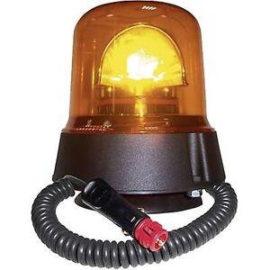 AJBA AJ.BA nødsituation lys GL.02 12 V, 24 V via i-bil outlet sugekop, magnetisk fastgørelse Orange