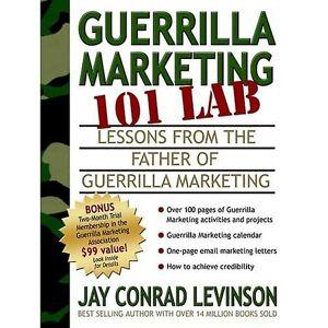 Jura Guerrilla Marketing 101 LAB: Erfaringer fra Faderen til Guerilla Marketing