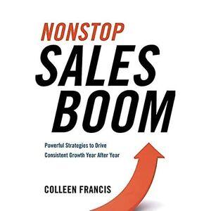 Nonstop Sales Boom: Kraftfulde strategier til at drive konsekvent vækst år efter år 23.1 x 15.3 x 1.9 cm