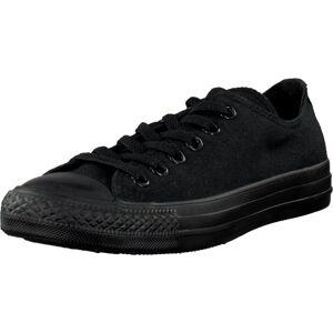 Converse All Star Canvas Ox, Sko, Sneakers og Træningssko, Lave Sneakers, Sort, Unisex, 35