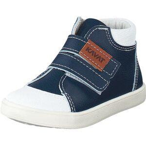 Kavat Fiskeby XC Blue, Sko, Sneakers og Træningssko, Høje Sneakers, Blå, Børn, 22