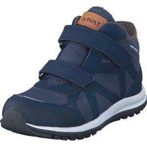 Kavat Iggesund WP Blue, Sko, Sneakers og Træningssko, Sneakers, Blå, Børn, 35