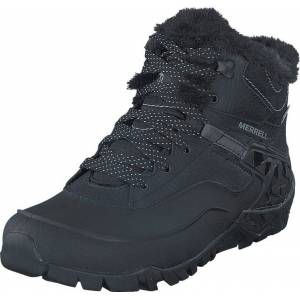 Merrell Aurora 6 Ice+ WTPF Black, Sko, Boots, Vandrestøvler, Lilla, Sort, Dame, 39