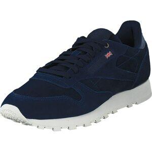 Reebok Classic Cl Leather MCC Blue Note/Chalk, Sko, Sneakers og Træningssko, Sneakers, Sort, Blå, Herre, 41