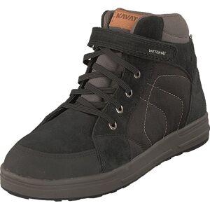 Kavat Landby Lace Wp Black, Sko, Sneakers og Træningssko, Sneakerboots, Grå, Sort, Børn, 35