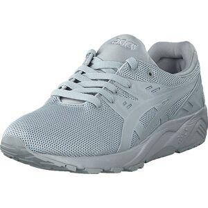 Asics Gel Kayano Trainer Evo Light Grey, Sko, Sneakers og Træningssko, Sneakers, Grå, Blå, Unisex, 39