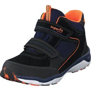 Superfit Sport5 Black/blue/orange, Sko, Boots, Vandrestøvler, Blå, Børn, 27
