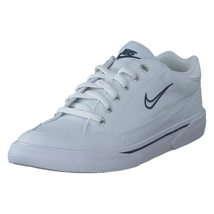 Nike Gts 97 White/midnight Navy-matte Alum, Herre, Sko, Sneakers, Blå, EU 46