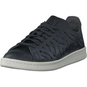 adidas Originals Stan Smith Cutout W Core Black/Core Black/Off Whit, Sko, Sneakers og Træningssko, Sneakers, Grå, Sort, Dame, 37