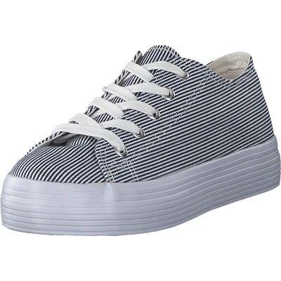 Duffy 97-18300 Blue White, Sko, Sneakers & Sportsko, Sneakers, Hvid, Dame, 38 - Børnetøj - Duffy