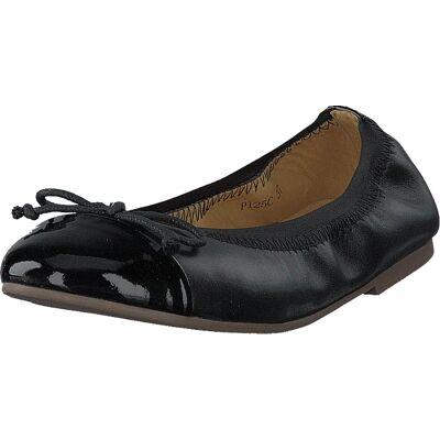Petit by Sofie Schnoor Leather Ballerina Black, Sko, Flade sko, Ballerinasko, Sort, Børn, 28 - Børnetøj - Petit by Sofie Schnoor