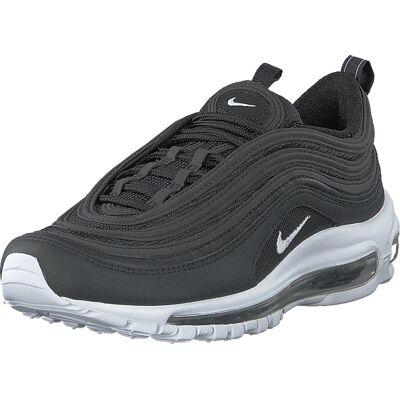 Nike Air Max 97 Black/white, Sko, Sneakers & Sportsko, Løbesko, Grå, Herre, 44 - Børnetøj - Nike