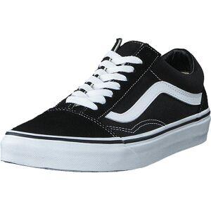 Vans U Old Skool Black/White, Sko, Sneakers og Træningssko, Lave Sneakers, Sort, Unisex, 39
