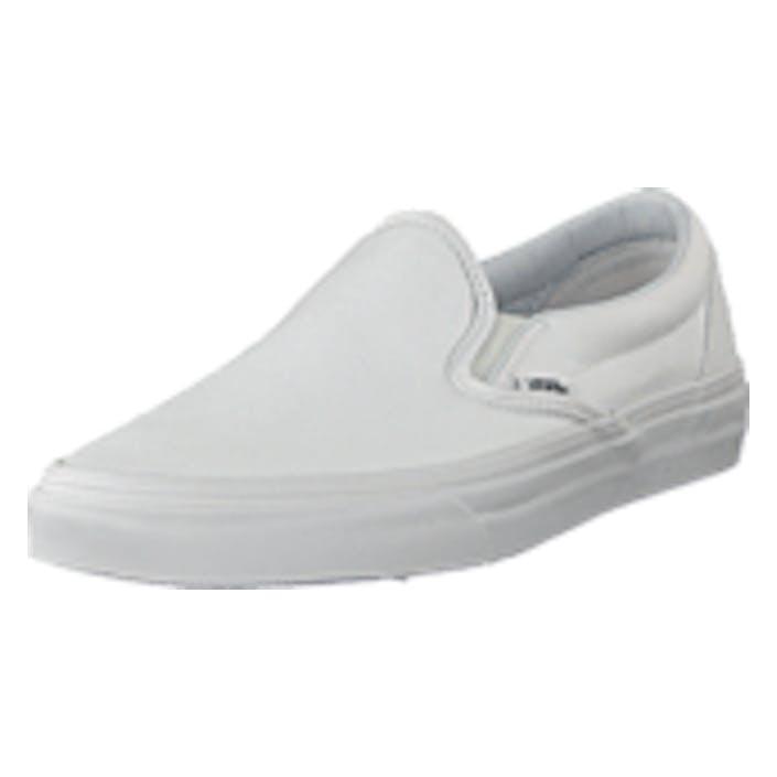 Vans U Classic Slip-on True White, Shoes, hvid, EU 42