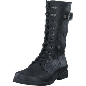 Green Comfort Caroline P-bla Black, Sko, Støvler og Støvletter, Kraftige støvler, Sort, Dame, 36