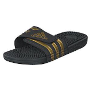 adidas Sport Performance Adissage Core Black/gold Met./core Blac, Shoes, sort, UK 4