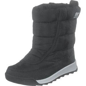 Sorel Childrens Whitney Ii Puffy Mid 010 Black, Sko, Boots, Boots med varmt for, Sort, Børn, 30