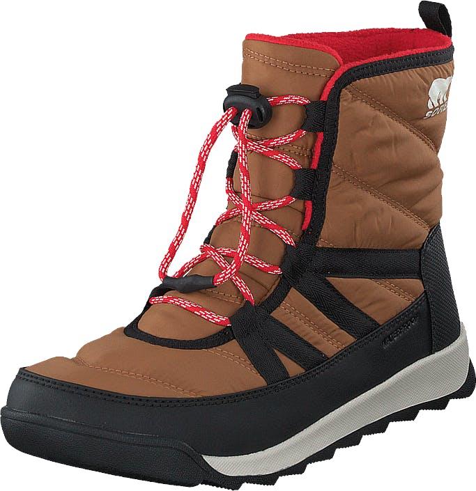 Sorel Youth Whitney Ii Short Lace 286 Elk, Sko, Boots, Vandrestøvler, Brun, Unisex, 36