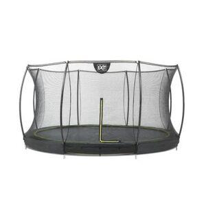 EXIT Trampolin Silhuet ø 366 cm med sikkerhedsnet - sort