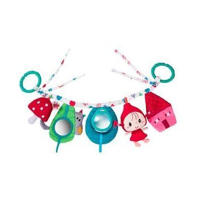 Lilliputiens aktivitets-legetøj - Rødhætte - flerfarvet - Barnevogne og Klapvogne - Array