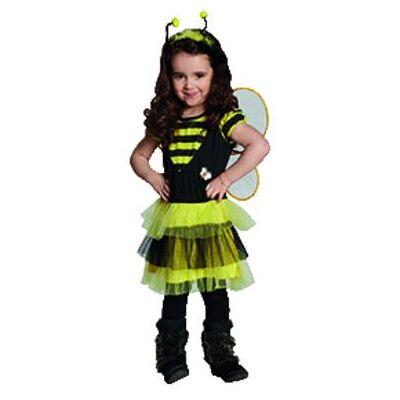 Rubies  Kostume Bi - flerfarvet - Gr.128 - Dreng/Pige - Baby Spisetid - Array