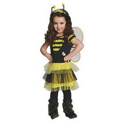 Rubies Kostume Bi - flerfarvet - Gr.116 - Dreng/Pige - Baby Spisetid - Array