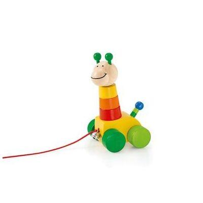 Selecta Træk- og stable legetøj Collino, 18 cm - Baby Spisetid - Array