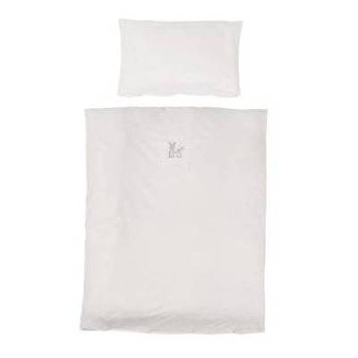 Roba sengetøjssæt 2 dele 100x135cm Fox&Bunny - hvid - Gr.100x135 cm - Baby Spisetid - Array