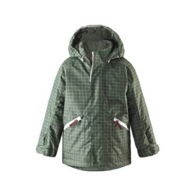 Reima Vinterjakke Nappaa grøn - Gr.116 - Dreng/Pige - Baby Spisetid - Array
