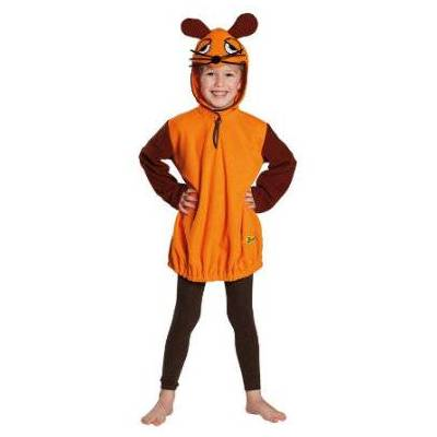 Rubies Karnevals Kostume Mus - orange - Gr.140 - Dreng/Pige - Baby Spisetid - Array