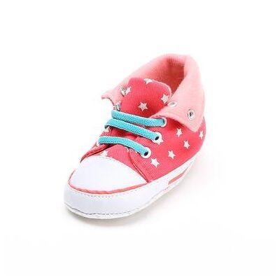 Staccato hjemmesko stjerner - rød - Gr.Babymode (6-24 måneder) - Dreng/Pige - Baby Spisetid - Array