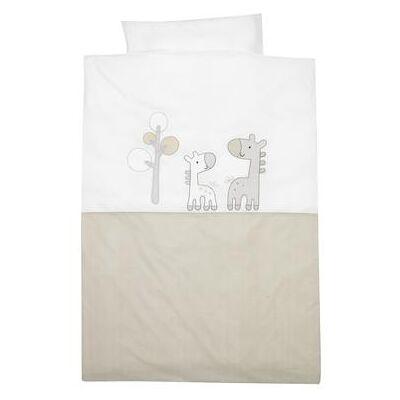 Alvi Sengetøj 100 x 135 cm, Giraf Beige - beige - Baby Spisetid - Array