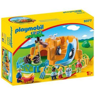 Playmobil ® 1 2 3 Zoo 9377 - flerfarvet - Baby Spisetid - Playmobil