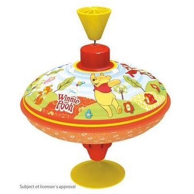Disney Bolz® Snurretop Disney - Peter Plys Party, 16 cm - Baby Spisetid - Disney