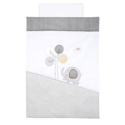 Alvi Sengetøj 100 x 135 cm, Jumbo grå - Baby Spisetid - Array