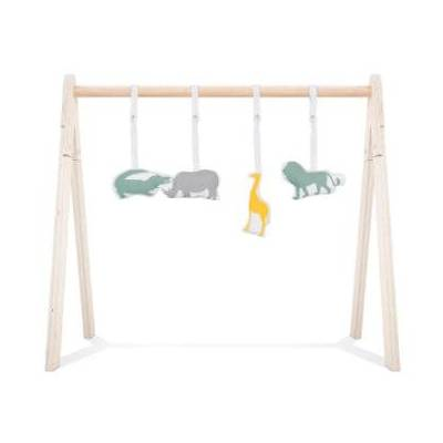 Jollein Babygym Legetøj Safari 4 stk - flerfarvet - Baby Spisetid - Array