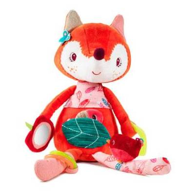 Lilliputiens  Aktivitets-bamse Alice - flerfarvet - Baby Spisetid - Array